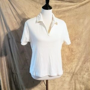 White Northcrest Polo Shirt